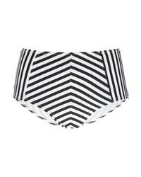 schwarze vertikal gestreifte Bikinihose von Zalando Essentials