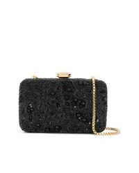 schwarze Perlen Clutch von Elie Saab