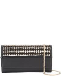 schwarze Perlen Clutch von Lanvin