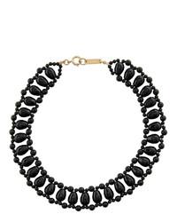 schwarze Perlen Halskette von Isabel Marant