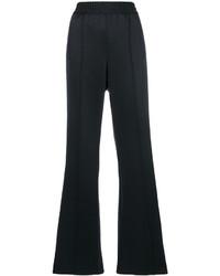 schwarze weite Hose von Marc Jacobs