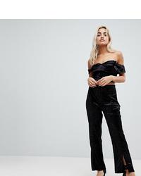 schwarze weite Hose von Vero Moda Petite