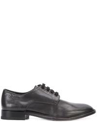 schwarze Wildleder Derby Schuhe von Paul Andrew
