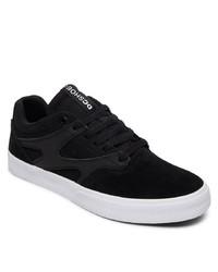 schwarze Wildleder niedrige Sneakers von DC Shoes