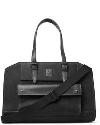 schwarze Wildleder Reisetasche von Belstaff