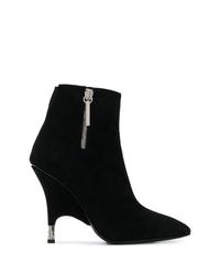 schwarze Wildleder Stiefeletten von Giuseppe Zanotti Design