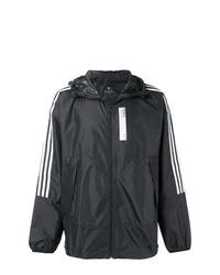 schwarze Windjacke von adidas