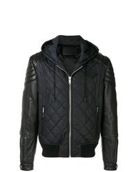 schwarze Windjacke von Givenchy