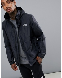 schwarze Windjacke von The North Face