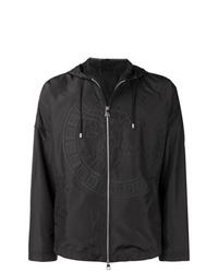 schwarze Windjacke von Versace Collection
