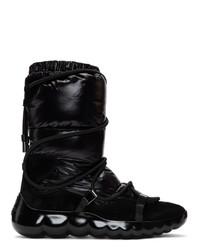 schwarze Winterschuhe von Moncler