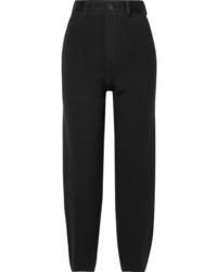 schwarze Wollanzughose von Balenciaga