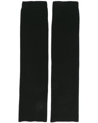 schwarze Wollhandschuhe von Juun.J