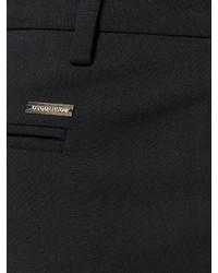 schwarze Wollkarottenhose von Dsquared2