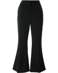 schwarze Wollschlaghose von Stella McCartney