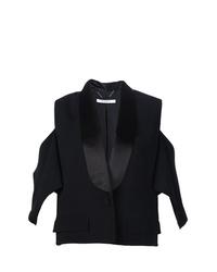 schwarzer ärmelloser Blazer von Givenchy