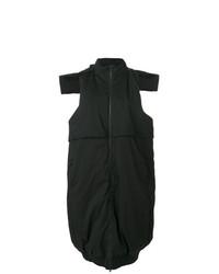 schwarzer ärmelloser Mantel von Y-3