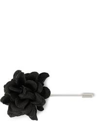 schwarzer Anstecknadel von Lanvin