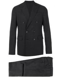 schwarzer Anzug mit Karomuster von DSQUARED2