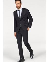 schwarzer Anzug von BRUNO BANANI