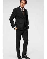 schwarzer Anzug von CLASS INTERNATIONAL