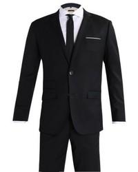 schwarzer Anzug von Cortefiel