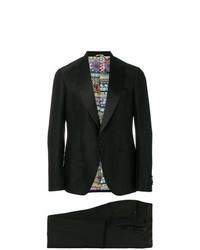 schwarzer Anzug von Etro