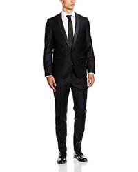 schwarzer Anzug von Karl Lagerfeld