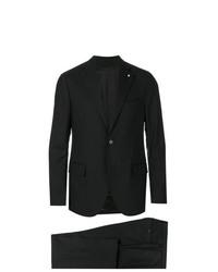 schwarzer Anzug von Lardini