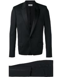 schwarzer Anzug von Saint Laurent