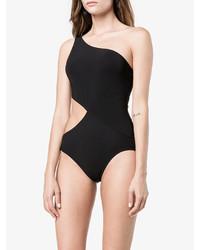 schwarzer Badeanzug mit Ausschnitten von Araks
