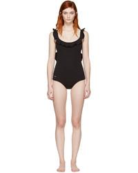 schwarzer Badeanzug von Fendi