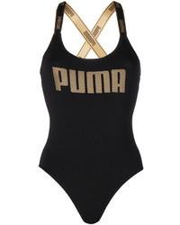 schwarzer Badeanzug von Puma