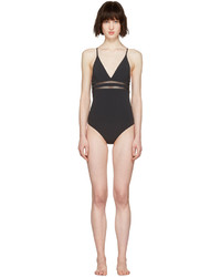 schwarzer Badeanzug von Stella McCartney