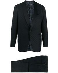 schwarzer bedruckter Anzug von Etro
