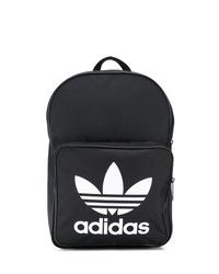 schwarzer bedruckter Rucksack von adidas