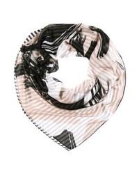 schwarzer bedruckter Schal von Even&Odd