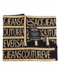 schwarzer bedruckter Schal von VERSACE JEANS COUTURE