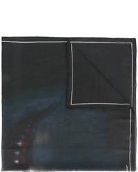 schwarzer bedruckter Wollschal von Givenchy