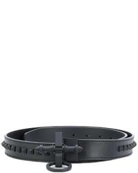schwarzer beschlagener Gürtel von Givenchy