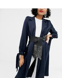 schwarzer beschlagener Leder Taillengürtel von Retro Luxe London