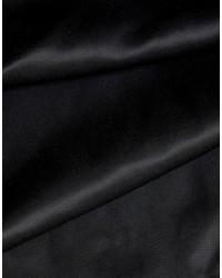 schwarzer bestickter Schal von Asos