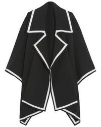 schwarzer Cape Mantel von Burberry
