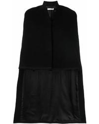 schwarzer Cape Mantel von Givenchy