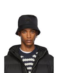 schwarzer Fischerhut von Prada