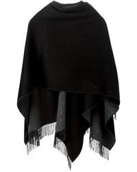 schwarzer Fransen Schal von Rag & Bone