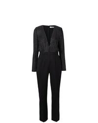 schwarzer gepunkteter Jumpsuit von Givenchy