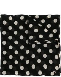 schwarzer gepunkteter Schal von Twin-Set