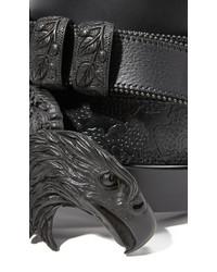 schwarzer Gürtel von Maison Margiela