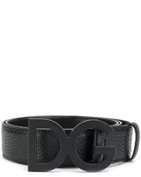 schwarzer Gürtel von Dolce & Gabbana